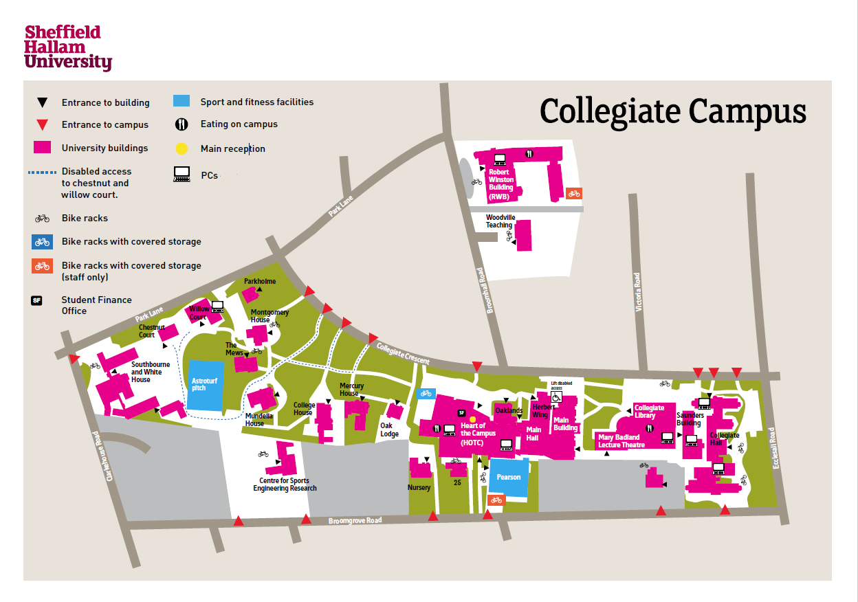 Campus maps and guides | FAQ on