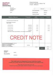 What is a credit note faq what is a credit note altavistaventures Images