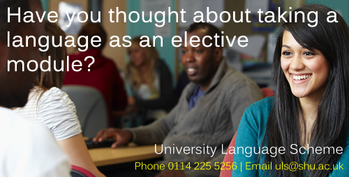 Taking a language as an elective module